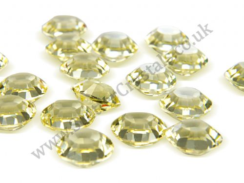 Pk 100 Swarovski Unfoiled Table Crystals, Style 1128, SS29 (6.2mm), Jonquil